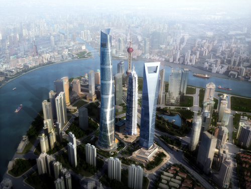 Pudong area